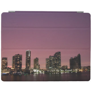 Sunset light over Miami after a storm iPad Cover