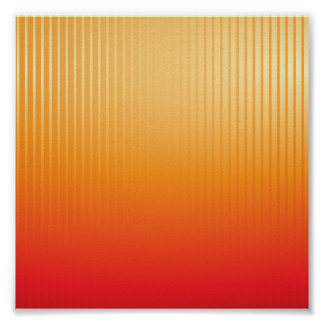 Sunset Lines Poster