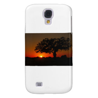 Sunset Live Oak Galaxy S4 Cover