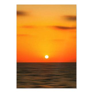 Sunset Magnetic Invitations