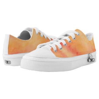 Sunset Marble Low Tops