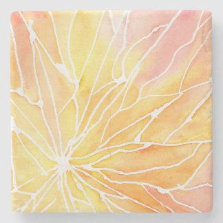 Sunset Marbled Break Stone Coaster