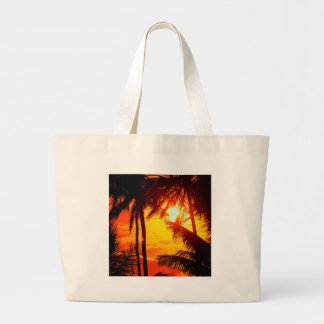 Sunset Maui Tote Bags