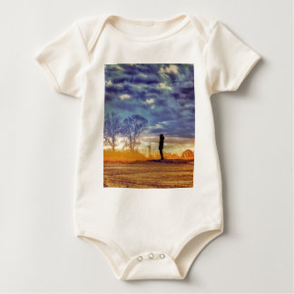 Sunset Meditation Baby Bodysuit
