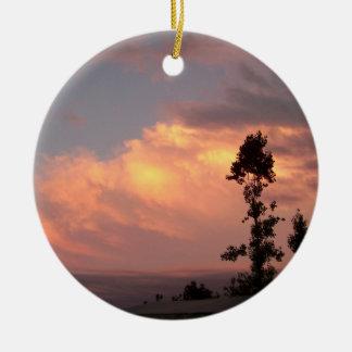 Sunset Memorial Ornament