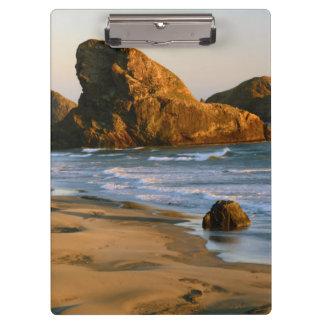 Sunset, Meyers Beach, Oregon, USA Clipboard