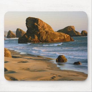 Sunset, Meyers Beach, Oregon, USA Mousepads