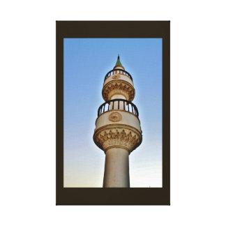 Sunset Minaret Canvas Print