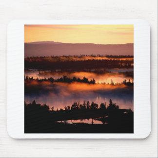 Sunset Misty Valley Mousepads