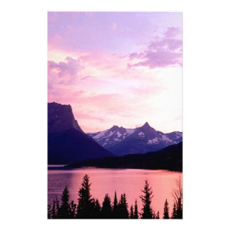 Sunset Montana Stationery
