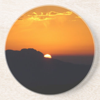 Sunset Moroccan Glow Beverage Coasters