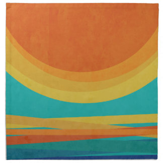 Sunset Napkin