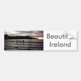Sunset,Narin Strand, County Donegal,Ireland Bumper Sticker