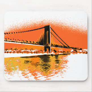 Sunset Narrows Bridge mousepad