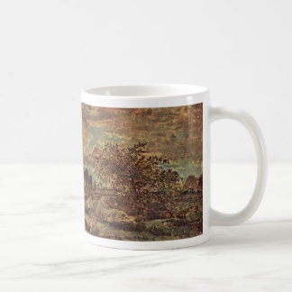 Sunset Near Arbonne By Rousseau Théodore Coffee Mug