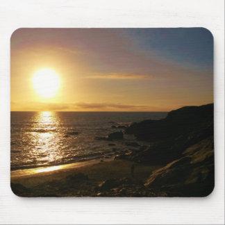 Sunset Newquay Cornwall England Mouse Pad