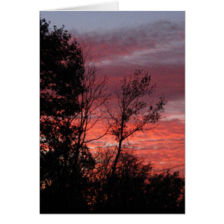 sunset #nnn greeting card