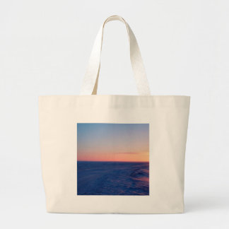 Sunset Northern Plateau Tote Bags