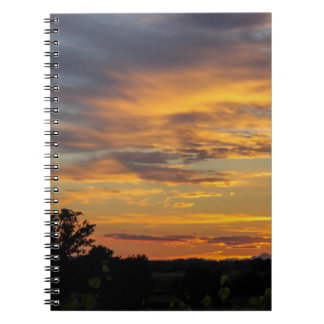 sunset note books