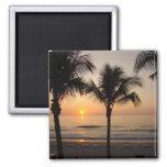 Sunset Ocean Beach Florida Photography Art Magnet Refrigerator Magnet