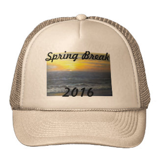 """SUNSET OCEAN SPRING BREAK 2016 HAT"" CAP"