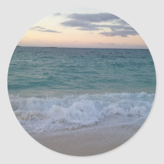 Sunset Ocean View Sticker