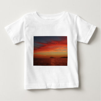 Sunset off the coast of Spain. Baby T-Shirt