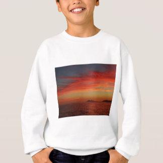 Sunset off the coast of Spain. Sweatshirt