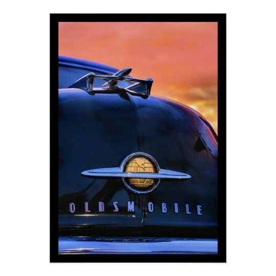 Sunset Olds Poster