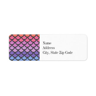 Sunset Ombre Mermaid Scales