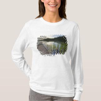 Sunset On A Small Lake T-Shirt