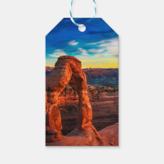 Sunset On Arches Park Gift Tags