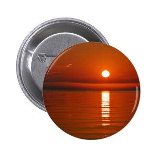 Sunset On Baltic Sea 6 Cm Round Badge
