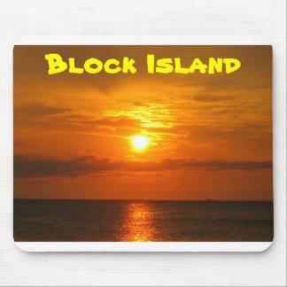 Sunset on Block Island Mouse Mat