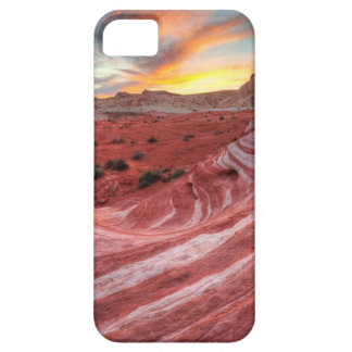 Sunset On Fire Wave iPhone 5 Covers