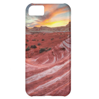 Sunset On Fire Wave iPhone 5C Case