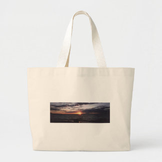 sunset on gitchee gumee bag