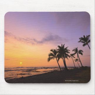 Sunset on Kahaluu Bay in Kona,Hawaii 2 Mouse Mat