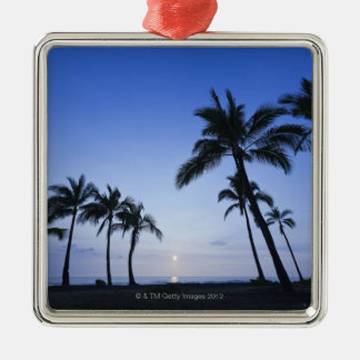 Sunset on Kahaluu Bay in Kona,Hawaii Christmas Ornament