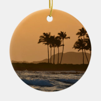 Sunset on Kauai Christmas Ornament