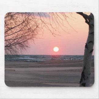 Sunset On Lake Michigan - Grand Haven, MI Mouse Pad