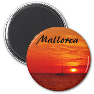 Sunset on Mallorca - Souvenir Magnet