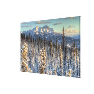 Sunset on Mount Fellows Canvas Print