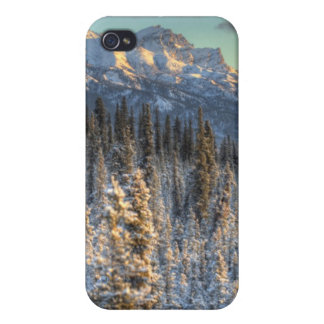 Sunset on Mount Fellows iPhone 4 Cases