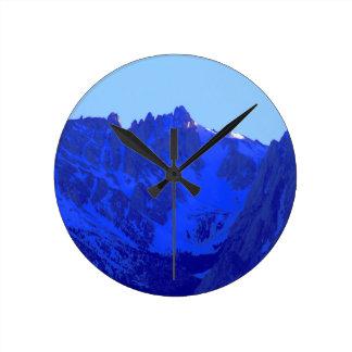 Sunset on Mount Whitney Clocks