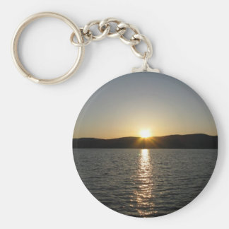 Sunset on Onota Lake: Vertical Keychains