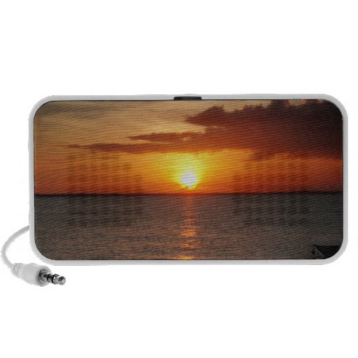 Sunset on Providenciales iPhone Speakers