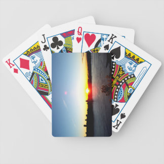 Sunset on Quebec City Bicycle Playing Cards