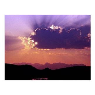 Sunset on Rio Grande, Big Bend National Park, Texa Postcard