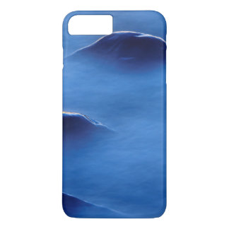 Sunset on rocks protruding through foamy water iPhone 8 plus/7 plus case